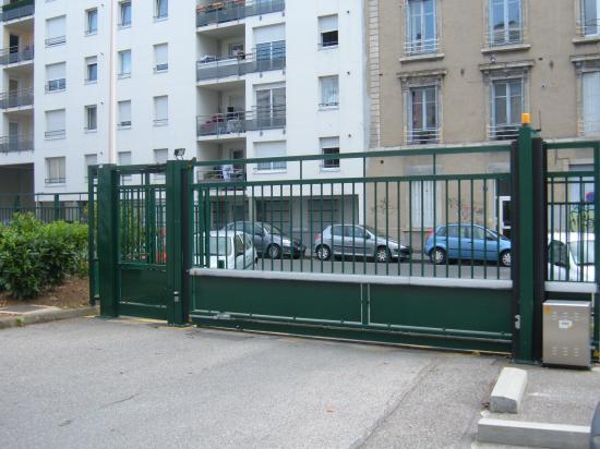 Portail et portillon rue Richerand