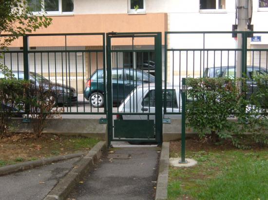 Portillon rue Ternois