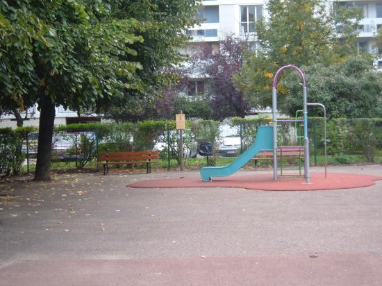 L'aire de jeux pour enfant